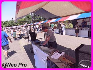 DJ Neo Pro live buiten
